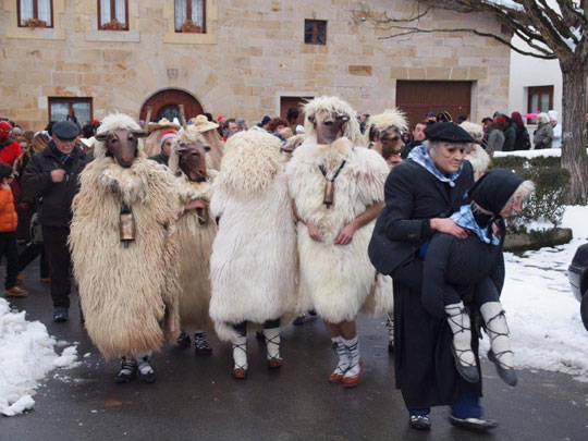 Carnavales rurales en Zalduondo