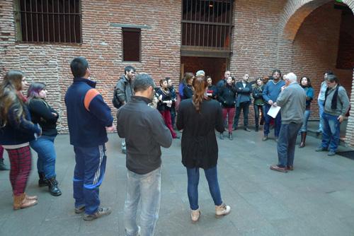 Visita al Zanjón de Granados en el barrio de San Telmo (Buenos Aires)