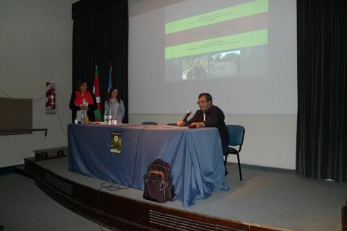 """Conferencia Agustín Azkarate """"Arqueología de la Arquitectura: casos y posibilidades"""" en el Auditorio Museo de La Plata"""